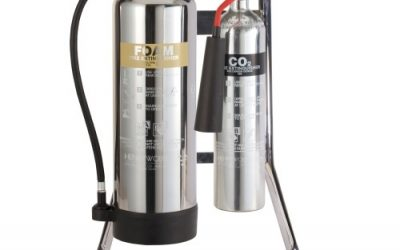 Are chrome fire extinguishers legal?