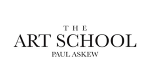 black and white logo for the art school restaurant in Liverpool