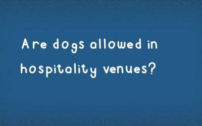 Are dogs allowed in restaurants, bars and coffee shops?