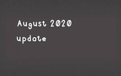 August 2020 pricing update