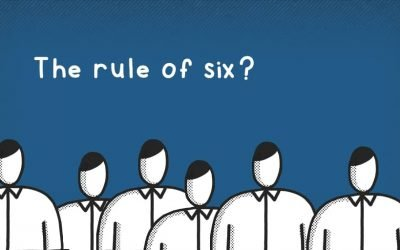 What does the rule of six mean for hospitality?