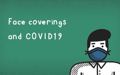 How do face coverings protect against Coronavirus COVID-19?