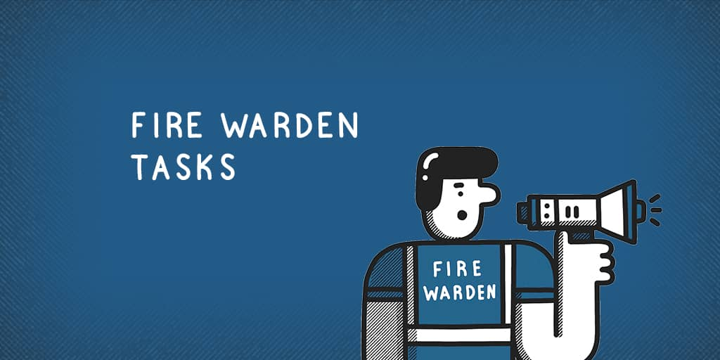 What does a fire warden do?